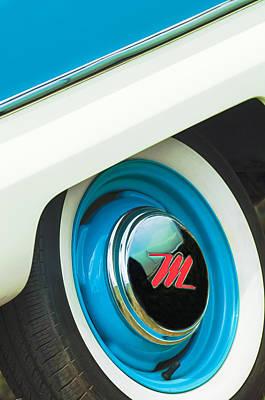 Photograph - 1959 Nash Metropolitan Wheel Emblem by Jill Reger