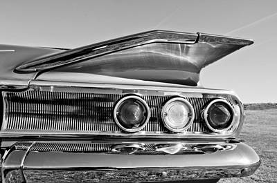 Photograph - 1960 Chevrolet Impala Resto Rod Taillight by Jill Reger