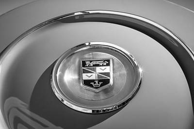 Photograph - 1960 Chrysler Imperial Crown Convertible Emblem by Jill Reger