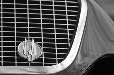 Photograph - 1960 Studebaker Hawk Grille Emblem by Jill Reger
