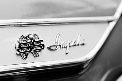 1961 Chevrolet Impala Ss Emblem Art Print by Jill Reger