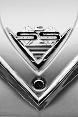 1961 Chevrolet Ss Impala Emblem Art Print by Jill Reger