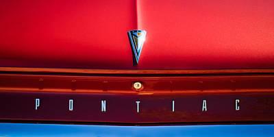 Catalina Wall Art - Photograph - 1961 Pontiac Catalina Emblem by Jill Reger