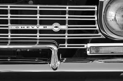Photograph - 1962 Chevrolet Nova Grille Emblem by Jill Reger