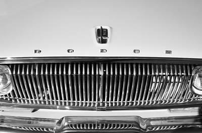 Dart Photograph - 1962 Dodge Dart Grille Emblem by Jill Reger