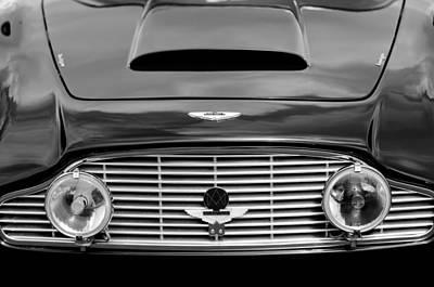 Photograph - 1963 Aston Martin Db4 Series V Vantage Gt Grille by Jill Reger