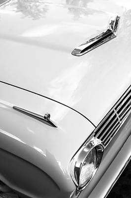 1963 Ford Falcon Futura Convertible Hood Art Print