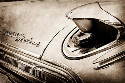 Photograph - 1963 Mercury Meteor Taillight Emblem by Jill Reger