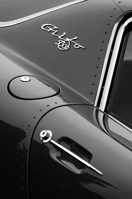 1964 Iso Grifo 5300 A3c Drogo Coupe Emblem Art Print