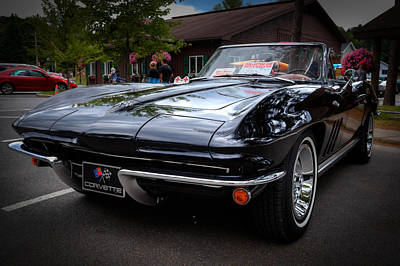 Photograph - 1965 Chevy Corvette by David Patterson