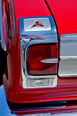 Coronet Photograph - 1965 Dodge Coronet 500 Taillight Emblem by Jill Reger