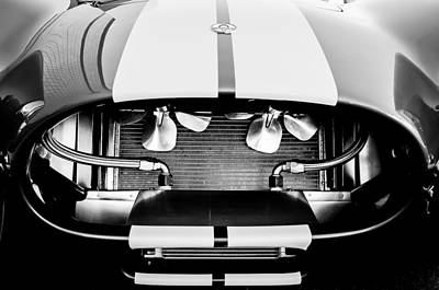 Cobra Photograph - 1965 Shelby Cobra Grille by Jill Reger