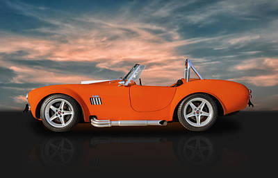 Photograph - 1965 Shelby Cobra Replica by Frank J Benz