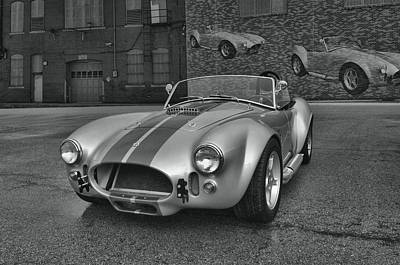 Art Print featuring the photograph 1965 Shelby Cobra Replica by Tim McCullough