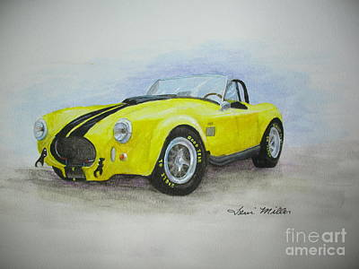 1965 Shelby Cobra Art Print by Terri Maddin-Miller