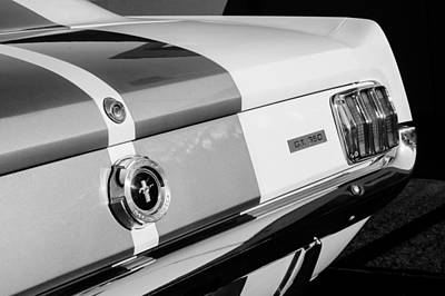 Photograph - 1965 Shelby Mustang Gt350 Taillight Emblem by Jill Reger