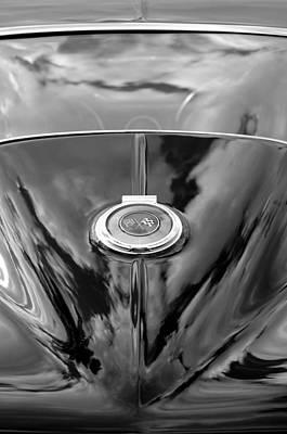 Photograph - 1966 Chevrolet Corvette Rear End by Jill Reger