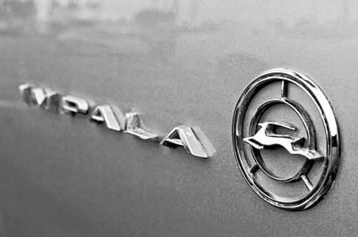 Chevrolet Impala Photograph - 1966 Chevrolet Impala Emblem by Jill Reger