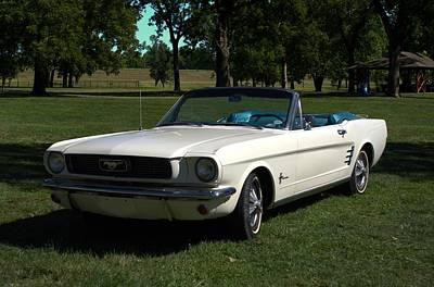 Photograph - 1966 Mustang Convertible by Tim McCullough