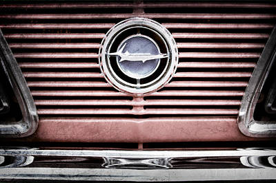 Plymouth Cuda Photograph - 1966 Plymouth Barracuda - Cuda - Emblem by Jill Reger