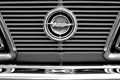 Plymouth Cuda Photograph - 1966 Plymouth Barracuda - Cuda Grille Emblem by Jill Reger
