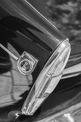 Of Tigers Photograph - 1966 Sunbeam Tiger Mk I Taillight Emblem by Jill Reger