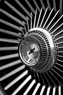 Photograph - 1967 Chevrolet Corvette Wheel by Jill Reger