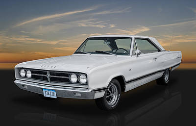Photograph - 1967 Dodge Coronet 500 by Frank J Benz