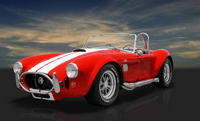 Photograph - 1967 Shelby Cobra Everett 427 by Frank J Benz