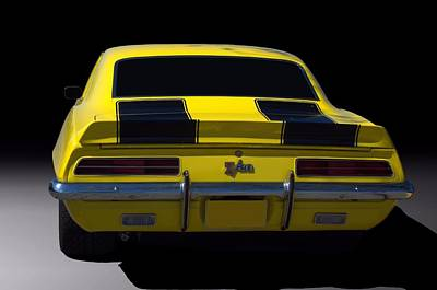 Photograph - 1969 Camaro Z28 Rs by TeeMack