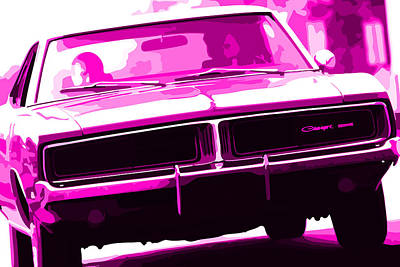Photograph - 1969 Dodge Charger by Gordon Dean II