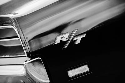 1969 Dodge Charger Rt Rear Emblem Art Print