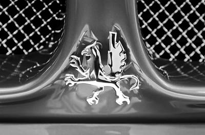 1969 Iso Grifo Grille Emblem Art Print by Jill Reger
