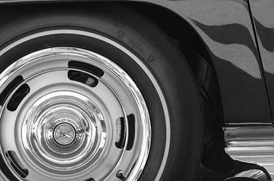 Lt Photograph - 1970 Chevrolet Corvette Lt-1 Convertible Hood Emblem by Jill Reger