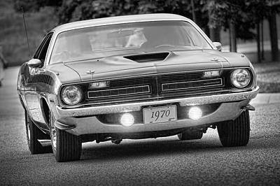 Photograph - 1970 Plymouth Aar 'cuda  by Gordon Dean II