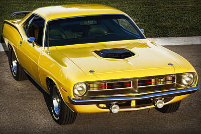 Photograph - 1970 Plymouth Hemi 'cuda by Gordon Dean II