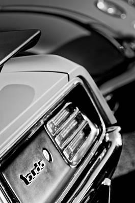 Photograph - 1970 Pontiac Barracuda Cuda Taillight Emblem by Jill Reger