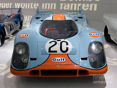 1970 Porsche 917 Kh Coupe Art Print