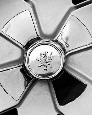 Griffin Photograph - 1971 Iso Fidia Wheel Emblem by Jill Reger