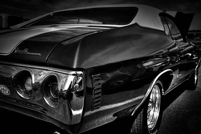 Auto Photograph - 1972 Chevrolet Chevelle by David Patterson