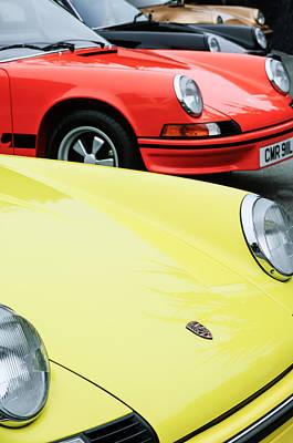 Photograph - 1973 Porsche 911 Carrera Rs Emblem by Jill Reger