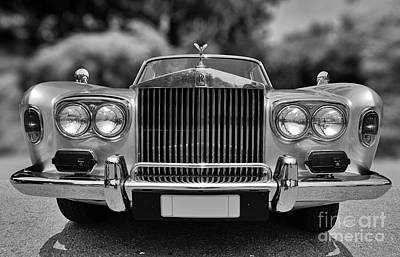 Old Photograph - 1974 Rolls Royce Silver Shadow by George Atsametakis