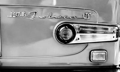 Photograph - 1975 Lancia Fulvia 1.3s Gt Berlina Taillight Emblem by Jill Reger
