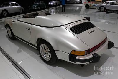 1987 Porsche 911 Carrera 3.2 Speedster Studie Art Print