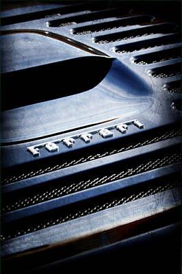 1997 Ferrari F 355 Spider Rear Emblem Art Print