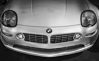 Bmw Racing Car Photograph - 1999 Bmw Z8 James Bond Car by Rich Franco