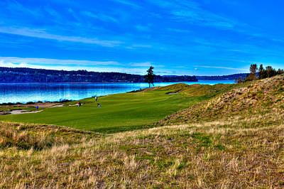 Photograph - #2 At Chambers Bay Golf Course - Location Of The 2015 U.s. Open Championship by David Patterson