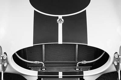 2001 Photograph - 2001 Shelby Cobra Replica Grille - Hood Emblem by Jill Reger
