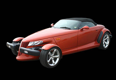 Photograph - 2002 Plymouth Prowler by Jack Pumphrey