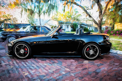 Highspeed Photograph - 2004 Honda S2000 Roadster Painted  by Rich Franco